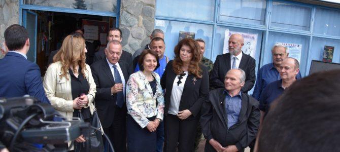 """Вицепрезидентката Илияна Йотова категорично подкрепя КИЦ """"Босилеград"""" и Иван Николов"""