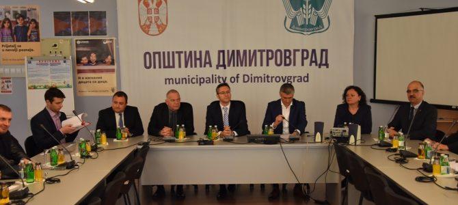 Среща на делегация на Народното събрание с българите в Сърбия